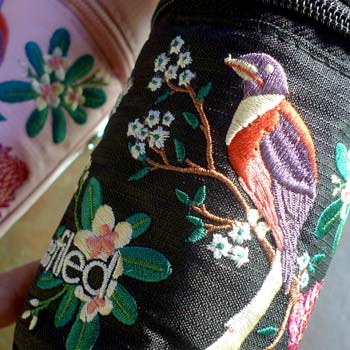 """Garden Bloom"" Embroidered Pen Capsule for Filed!"