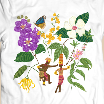 UTMeArtPh x Fiesta T-shirt for Uniqlo Philippines