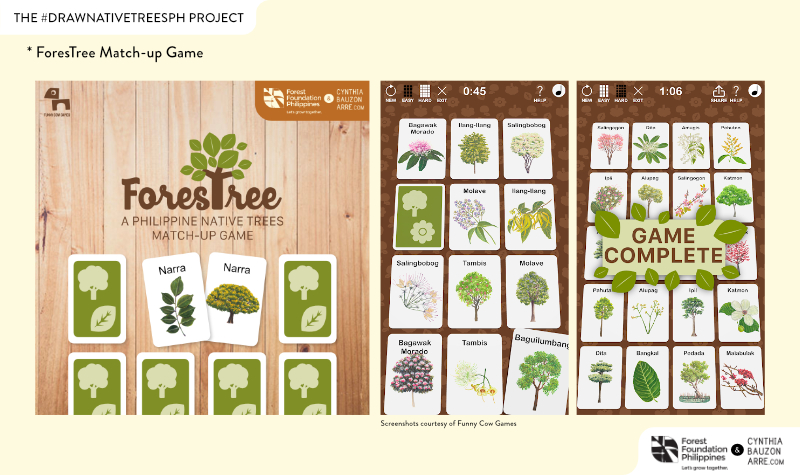 ForesTree Philippine Native Trees Game