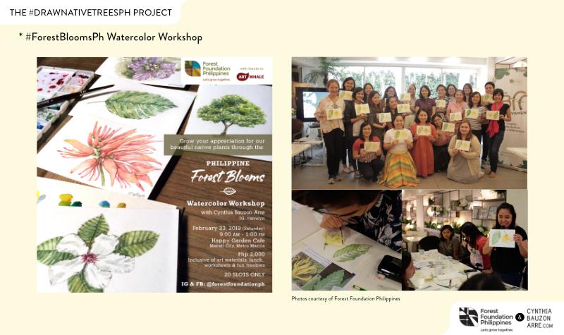 Philippine Forest Blooms Workshop