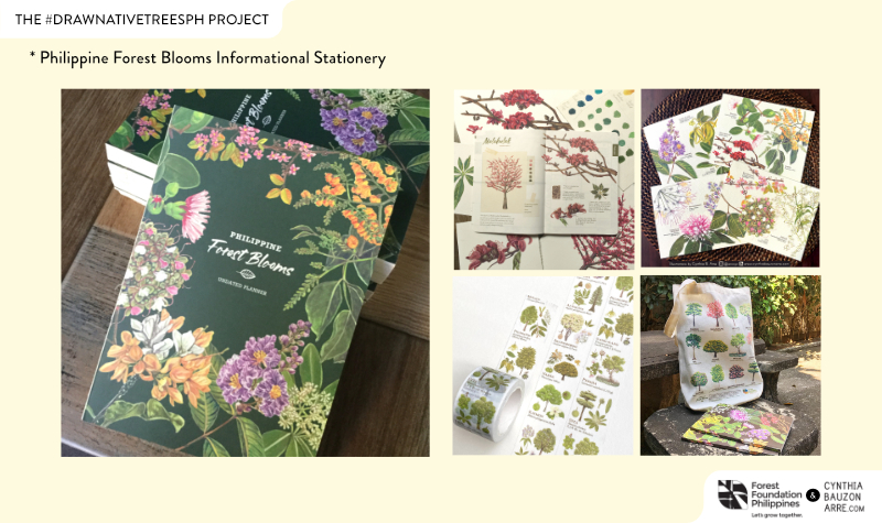 Philippine Forest Blooms Planner and Stationery