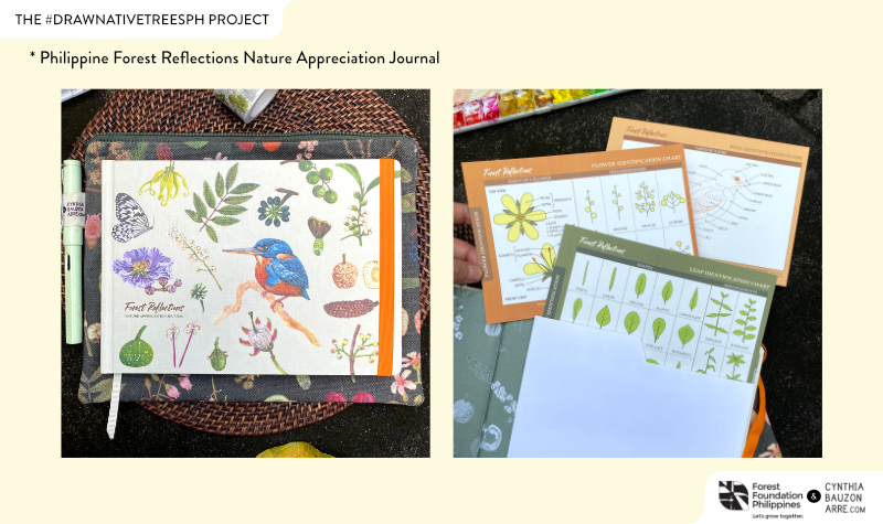 Philippine Forest Reflections Nature Appreciation Journal